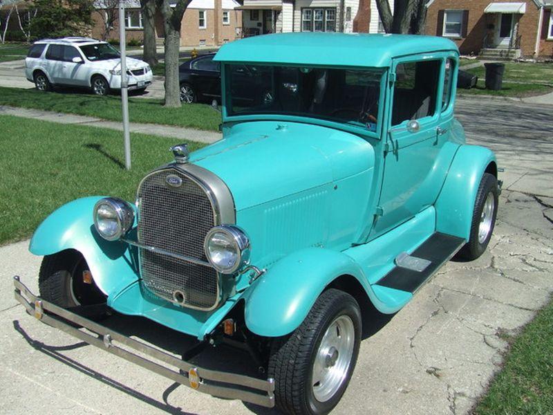 1928 Ford 5-Window Coupe | Mokena, Illinois | Classic Cars America ...
