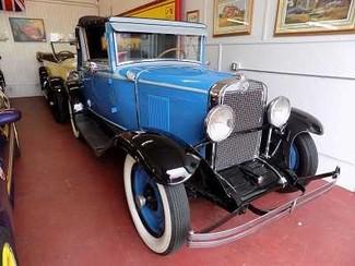 1929 Chevrolet Cabriolet Coupe Conv - Utah Showroom Newberg, Oregon 6