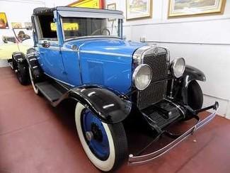 1929 Chevrolet Cabriolet Coupe Conv - Utah Showroom Newberg, Oregon 7