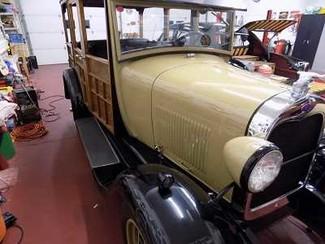 1929 Ford Model A Woodie Wagon - Utah Showroom Newberg, Oregon 8