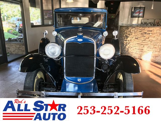1931 Ford Model A After 25 years of doing business at the same location in Puyallup we have an A r