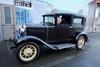 1931 Ford Model A 2 door sedan Seattle , Washington