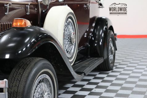 1931 Ford PHANTOM HANDMADE REPLICAR V8 CONVERTIBLE | Denver, Colorado | Worldwide Vintage Autos in Denver, Colorado
