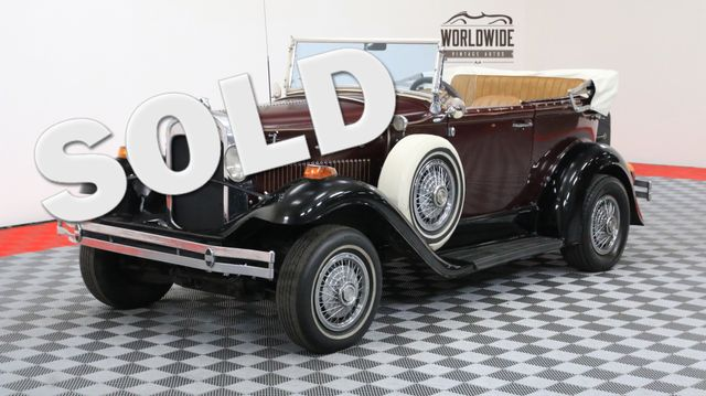1931 Ford PHANTOM HANDMADE REPLICAR V8 CONVERTIBLE | Denver, Colorado | Worldwide Vintage Autos