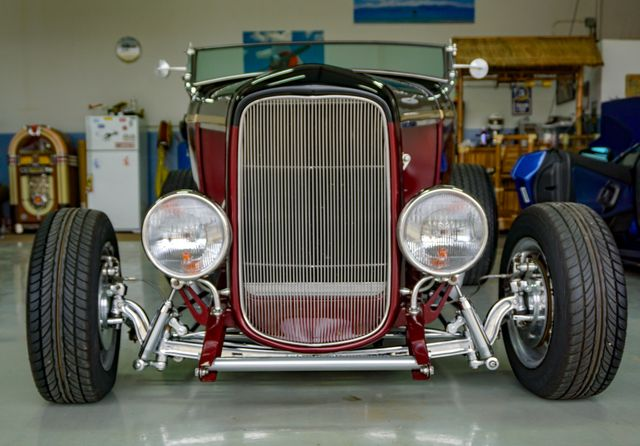 1932 Ford Model B Roadster Hot Rod San Diego, California 11