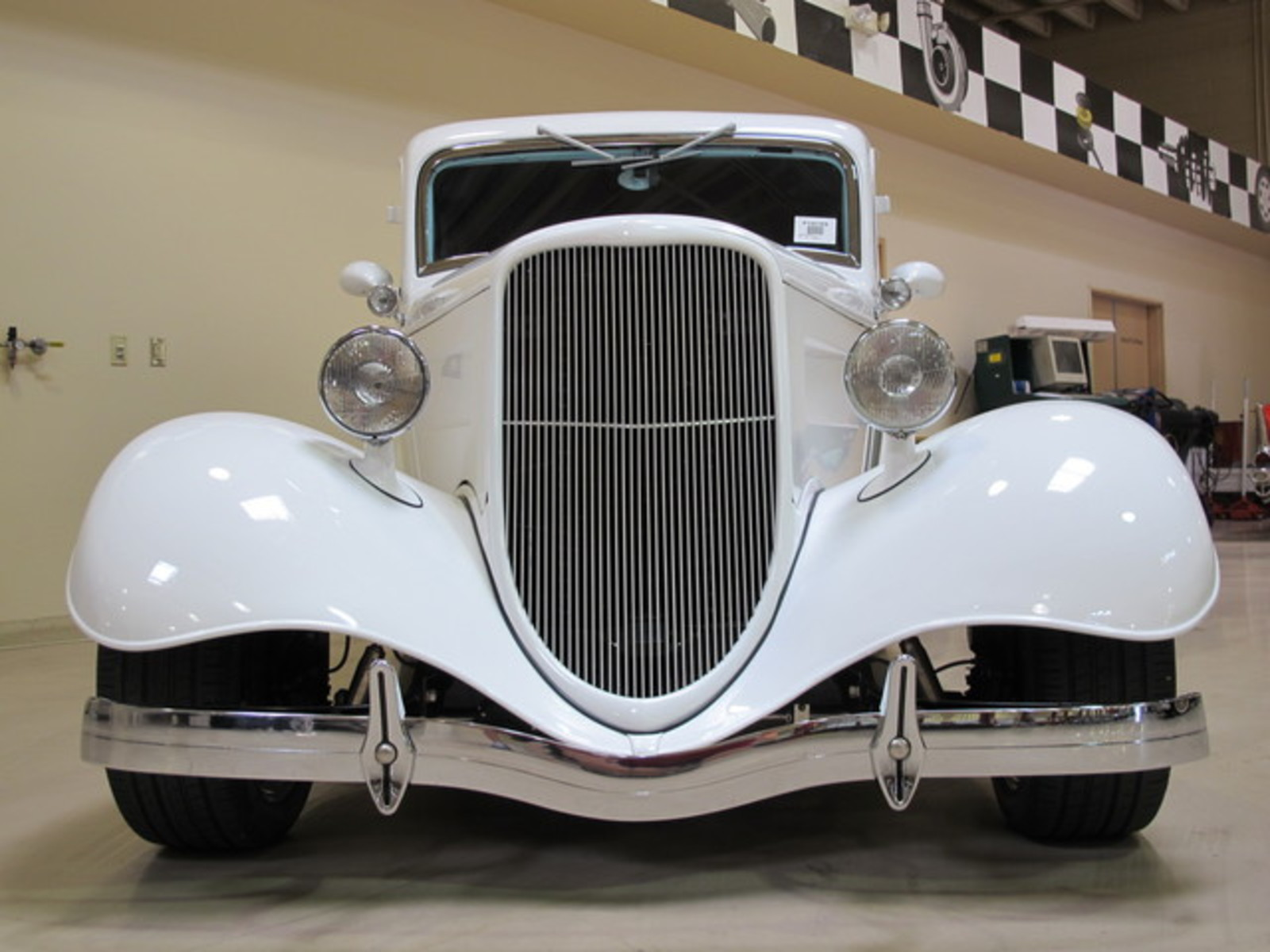 1934 white custom used ford deluxe for sale in las for Ebay motors las vegas