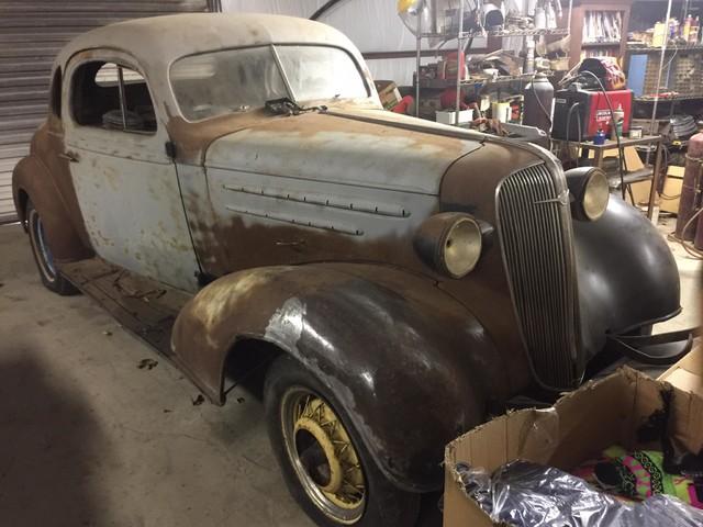 1936 Chevrolet 2 DOOR PROJECT RedLineMuscleCars.com, Oklahoma 0