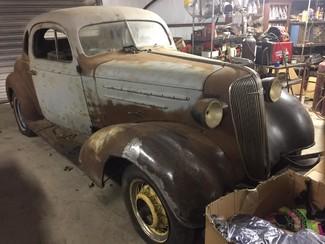 1936 Chevrolet 2 DOOR PROJECT RedLineMuscleCars.com, Oklahoma