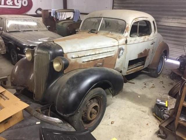 1936 Chevrolet 2 DOOR PROJECT RedLineMuscleCars.com, Oklahoma 1