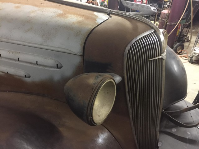 1936 Chevrolet 2 DOOR PROJECT RedLineMuscleCars.com, Oklahoma 3