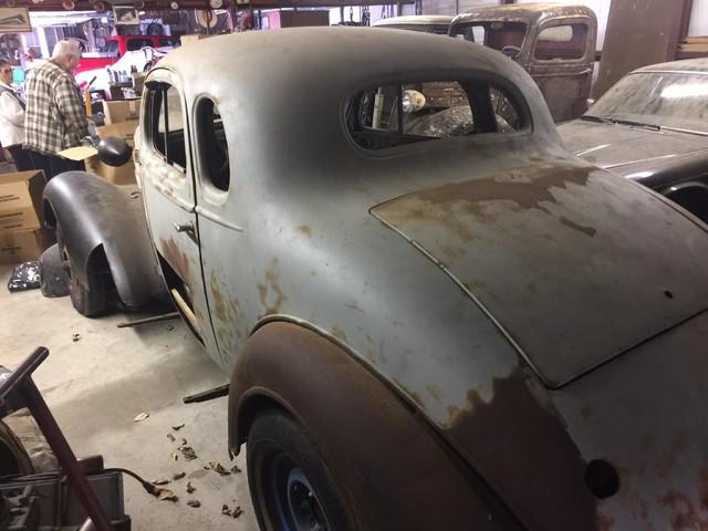 1936 Chevrolet 2 DOOR PROJECT RedLineMuscleCars.com, Oklahoma 4