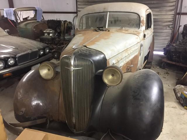 1936 Chevrolet 2 DOOR PROJECT RedLineMuscleCars.com, Oklahoma 6
