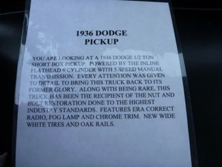 1936 Dodge Pickup 12 Ton Short Box  in Las Vegas, NV