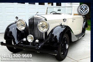 1937 Bentley 4.25 Liter Drop Head Coupe BEAUTIFUL, AUTHENTIC AND ULTRA RARE in Garland