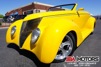 1937 Ford Roadster Convertible Pro built