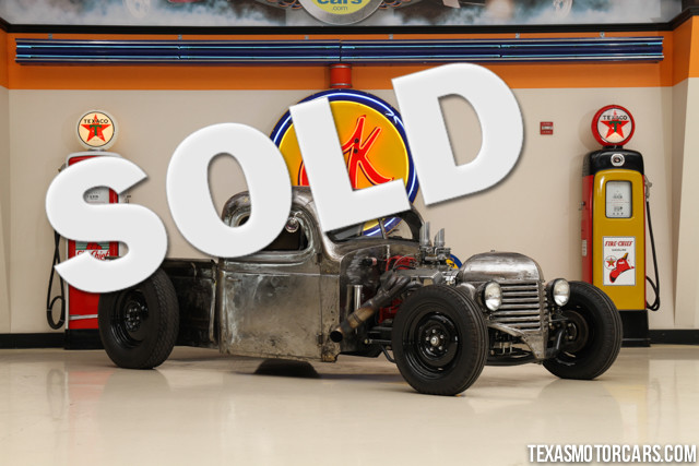 1938 Dodge Rat Rod If youve ever wanted to own a hand-built custom rat rod now is your chance Th
