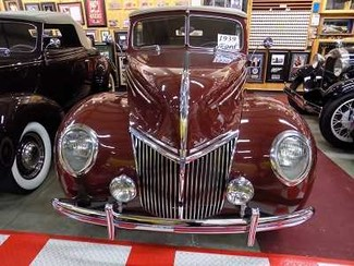 1939 Ford Deluxe 4Dr Conv - Utah Showroom Newberg, Oregon