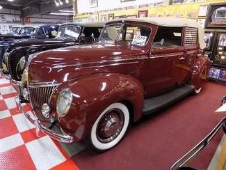 1939 Ford Deluxe 4Dr Conv - Utah Showroom Newberg, Oregon 1