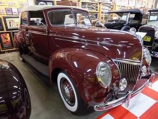 1939 Ford Deluxe 4Dr Conv - Utah Showroom Newberg, Oregon 7