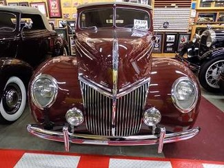 1939 Ford Deluxe 4Dr Conv - Utah Showroom Newberg, Oregon 8