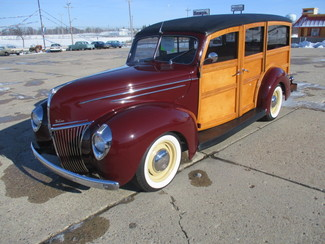 1939 Ford Woody - Minnesota Showroom Newberg, Oregon