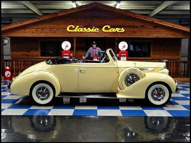 1939 Packard 120 SUPER EIGHT CONVERTIBLE Phoenix, Arizona 1
