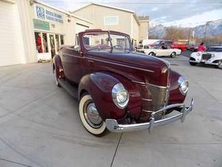 1940 Ford Club Coupe - Utah Showroom Newberg, Oregon 5