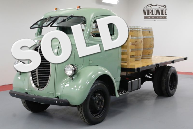 1940 Ford COE FRAME OFF RESTORED FLATHEAD V8 RARE CABOVER   Denver, CO   Worldwide Vintage Autos