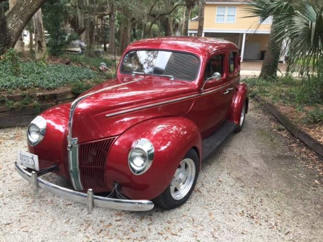 1940 ford standard 4 door red 1940 ford classic for 1940 ford 4 door sedan