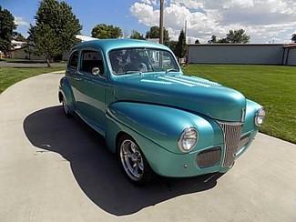 1941 Ford Custom 2Dr Sedan - Utah Showroom Newberg, Oregon 8