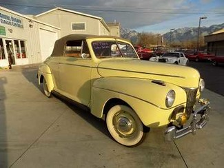 1941 Ford Super Deluxe Conv - Utah Showroom Newberg, Oregon
