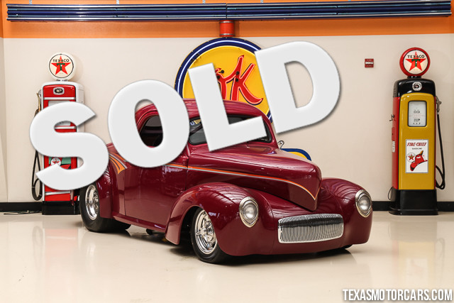 1941 Willys Coupe Custom Street Rod Financing is available with rates as low as 29 wac Get pr