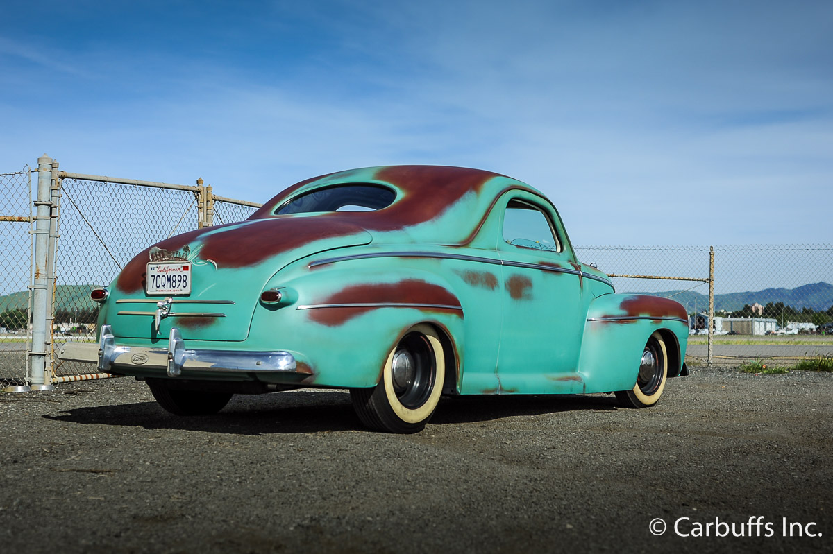 1946 ford business coupe sexy girl and car photos for 1941 chrysler royal 3 window coupe