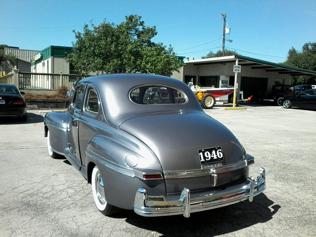 1946 Mercury Eight  coupe San Antonio, Texas 7