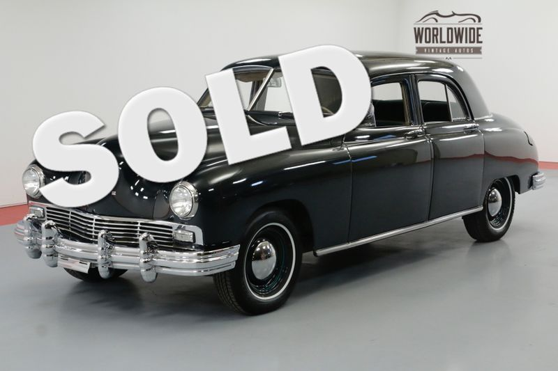 1947 Frazer STANDARD COLLECTOR 6 CYL MANUAL AMERICAN QUALITY | Denver, CO | Worldwide Vintage Autos