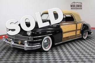 1948 Chrysler WOODY in Denver Colorado