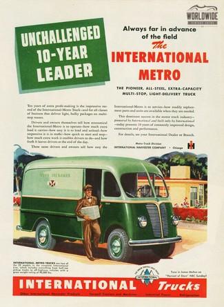 1948 International METRO FRAME OFF RESTORATION FOOD TRUCK READY! in Denver, Colorado
