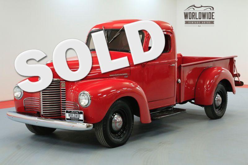 1948 International KB2 TRUCK FRAME OFF RESTORED ONE OWNER | Denver, CO | Worldwide Vintage Autos