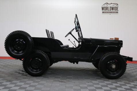 1948 Jeep CJ2A RESTORED BARN FIND 4X4 | Denver, Colorado | Worldwide Vintage Autos in Denver, Colorado