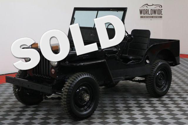 1948 Jeep CJ2A RESTORED BARN FIND 4X4 | Denver, Colorado | Worldwide Vintage Autos