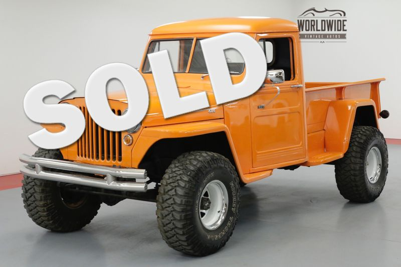 1948 Jeep WILLYS RESTORED HOT ROD 4X4 350 V8 PS | Denver, CO | Worldwide Vintage Autos