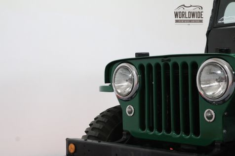 1948 Willys JEEP FRAME OFF RESTORATION COLLECTOR GRADE | Denver, Colorado | Worldwide Vintage Autos in Denver, Colorado