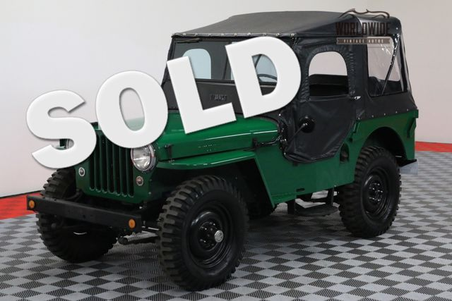 1948 Willys JEEP FRAME OFF RESTORATION COLLECTOR GRADE | Denver, Colorado | Worldwide Vintage Autos