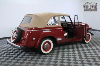 1948 Willys JEEPSTER FRAME OFF RESTORATION RARE in Denver, Colorado