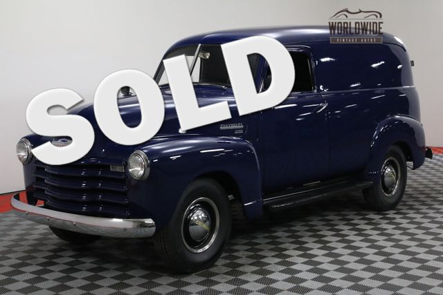 1950 Chevrolet 3100 PANEL 12 VOLT SYSTEM 235 INLINE 6 CYLINDER | Denver, Colorado | Worldwide Vintage Autos