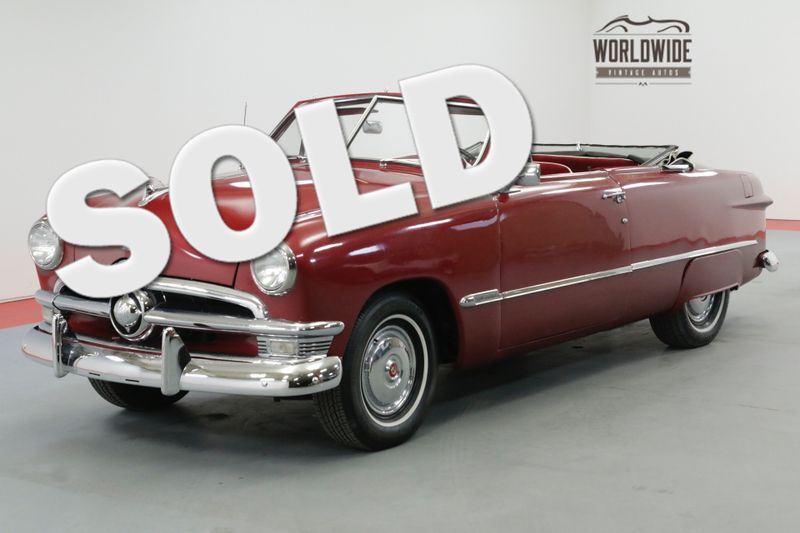 1950 Ford CONVERTIBLE AUTOMATIC POWER TOP CLASSIC CRUISER | Denver, CO | Worldwide Vintage Autos