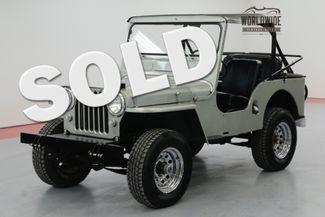 1950 Jeep CJ3A in Denver CO