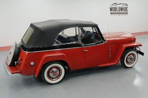 1950 Jeep JEEPSTER FLATHEAD 6 CYLINDER CONVERTIBLE MUST SEE | Denver, CO | Worldwide Vintage Autos in Denver, CO
