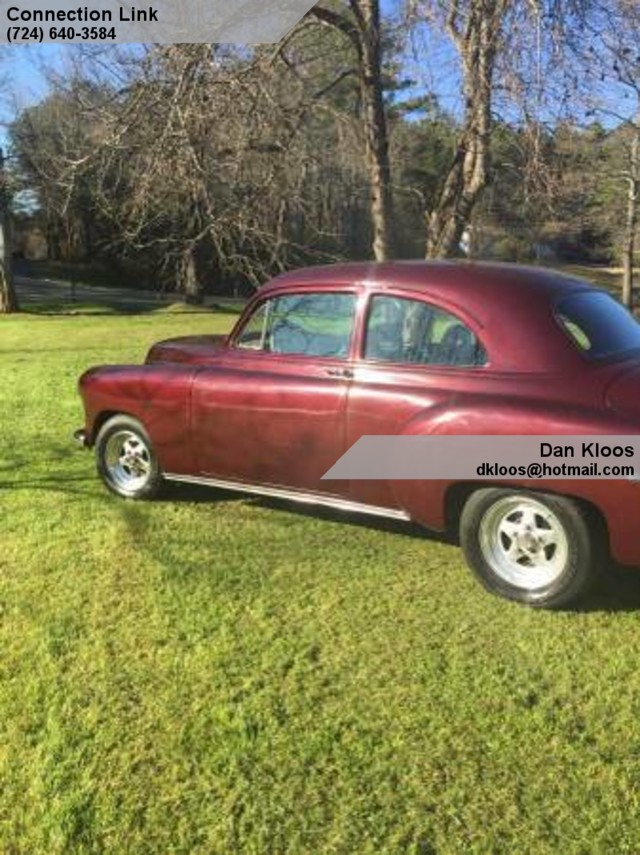 1951 chevrolet 2 door coupe oakmont pa 15139 for 1951 chevy 2 door coupe