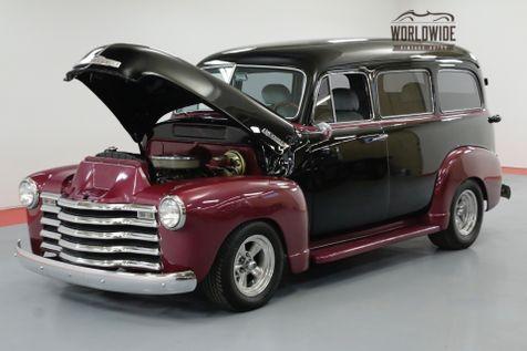1951 Chevrolet SUBURBAN RESTORED RARE CARRYALL V8 AUTO CHROME PS PB | Denver, CO | Worldwide Vintage Autos in Denver, CO